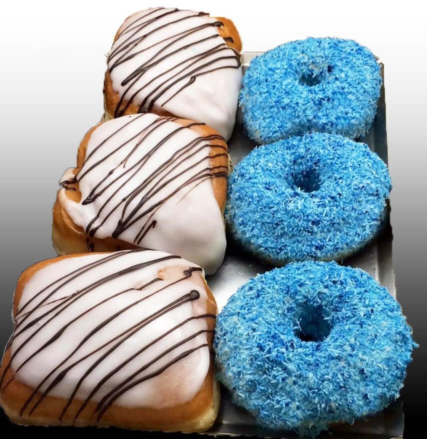 donuts coco y rellenos